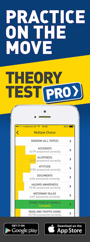 Theory Test Pro in partnership with Paul Robinson Driving School
